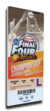 2013 Final Four Mega Ticket - Louisville Cardinals Stretched Canvas Print