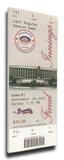 Final Game at Veterans Stadium Mega Ticket - Philadelphia Phillies Stretched Canvas Print