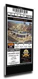 Pittsburgh Pirates 2001 Opening Day / First Game at PNC Park Mega Ticket Stretched Canvas Print