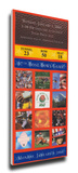 2001 Rose Bowl Mega Ticket - Washington Huskies Stretched Canvas Print