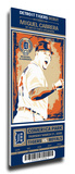 Miguel Cabrera Artist Series Mega Ticket - Detroit Tigers Stretched Canvas Print