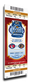 2012 NHL Winter Classic Mega Ticket - Rangers vs Flyers Stretched Canvas Print