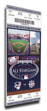 2008 MLB All-Star Game Mega Ticket, Yankees Host - MVP J.D. Drew, Red Sox Stretched Canvas Print