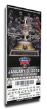 2012 Sugar Bowl Mega Ticket - Michigan Wolverines Stretched Canvas Print