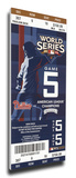2009 World Series Mega Ticket - Philadelphia Phillies Stretched Canvas Print