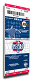 2012 World Series Mega Ticket - San Francisco Giants Stretched Canvas Print