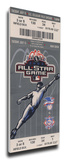 2003 MLB All-Star Game Mega Ticket, White Sox Host - MVP Garret Anderson, Angels Stretched Canvas Print