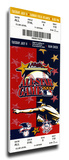 2000 MLB All-Star Game Mega Ticket, Braves Host - MVP Derek Jeter, Yankees Stretched Canvas Print