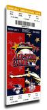 2000 MLB All-Star Game Mega Ticket, Braves Host - MVP Derek Jeter, Yankees Stretched Canvas Print