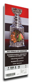 Chicago Blackhawks 2013 Stanley Cup Champions Banner Raising Mega Ticket Stretched Canvas Print