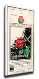 1984 Rose Bowl Mega Ticket - UCLA Bruins Stretched Canvas Print