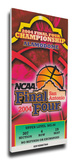 2004 Final Four Mega Ticket - UConn Huskies Stretched Canvas Print