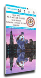 1991 NHL All-Star Game Mega Ticket, Blackhawks Host - MVP Damphousse Stretched Canvas Print