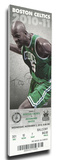 Paul Pierce 20,000 Point Game Mega Ticket - Boston Celtics Stretched Canvas Print