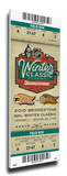 2010 NHL Winter Classic Mega Ticket - Flyers vs Bruins Stretched Canvas Print