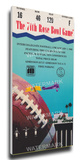 1988 Rose Bowl Mega Ticket - Michigan State Spartans Stretched Canvas Print