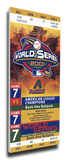 2001 World Series Mega Ticket - Arizona Diamondbacks Stretched Canvas Print