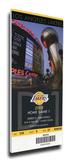 2009 NBA Finals Mega Ticket - Game 1 - Los Angeles Lakers Stretched Canvas Print
