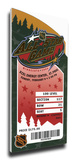 2004 NHL All-Star Game Mega Ticket, Wild Host - MVP Sakic Stretched Canvas Print