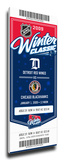 2009 NHL Winter Classic Commemorative Mega Ticket - Red Wings vs Blackhawks Stretched Canvas Print