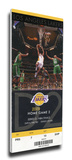 2009 NBA Finals Mega Ticket - Game 2 - Los Angeles Lakers Stretched Canvas Print