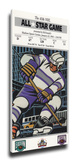1994 NHL All-Star Game Mega Ticket, Rangers Host - MVP Richter Stretched Canvas Print