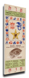 1978 MLB All-Star Game Mega Ticket, Padres Host - MVP Steve Garvey, Dodgers Stretched Canvas Print