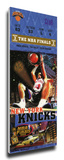 1999 NBA Finals Game 5 Mega Ticket - New York Knicks Stretched Canvas Print