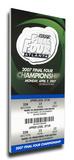 2007 Final Four Mega Ticket - Florida Gators Stretched Canvas Print