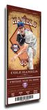 Cole Hamels Artist Series Mega Ticket - Philadelphia Phillies Stretched Canvas Print
