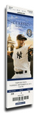 Mariano Rivera Final Game at Yankee Stadium Mega Ticket - New York Yankees Stretched Canvas Print