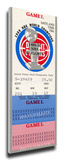 1990 NBA Finals Mega Ticket, Game 2 - Detroit Pistons Stretched Canvas Print