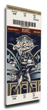 2002 MLB All-Star Game Mega Ticket, Brewers Host - MVP Miller Park Stretched Canvas Print