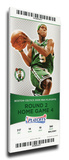 2008 NBA Playoff Mega Ticket - Game 7 Round 2, Rondo - Boston Celtics Champions Stretched Canvas Print