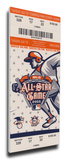 2005 MLB All-Star Game Mega Ticket, Tigers Host - MVP Miguel Tejada, Orioles Stretched Canvas Print