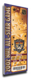 2002 NHL All-Star Game Mega Ticket, Kings Host - MVP Daze Stretched Canvas Print