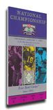 2002 BCS National Championship Game Mega Ticket - Miami Hurricanes Stretched Canvas Print