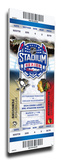 2014 NHL Stadium Series Mega Ticket - Penguins vs. Blackhawks Stretched Canvas Print