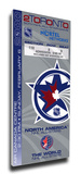 2000 NHL All-Star Game Mega Ticket, Maple Leafs Host - MVP Bure Stretched Canvas Print