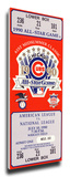 1990 MLB All-Star Game Mega Ticket, Cubs Host - MVP Julio Franco, Rangers Stretched Canvas Print