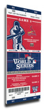 2013 World Series Mega Ticket - St Louis Cardinals Stretched Canvas Print