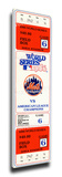 1986 World Series Game 6 Mega Ticket - New York Mets Stretched Canvas Print