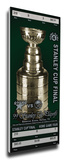 1999 NHL Stanley Cup Commemorative Mega Ticket - Dallas Stars Stretched Canvas Print