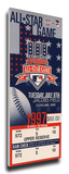 1997 MLB All-Star Game Mega Ticket, Indians Host - MVP Sandy Alomar Jr., Indians Stretched Canvas Print