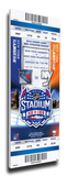 2014 NHL Stadium Series Mega Ticket - Islanders vs. Rangers Stretched Canvas Print