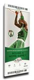 2008 NBA Finals Mega Ticket - Game 1, Garnett - Boston Celtics Stretched Canvas Print