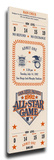 1992 MLB All-Star Game Mega Ticket, Padres Host - MVP Ken Griffey Jr., Mariners Stretched Canvas Print