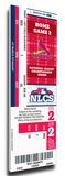 2012 NLCS Mega Ticket - St Louis Cardinals Stretched Canvas Print