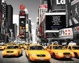 Times Square - Yellow Cabs Plakater