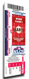 2012 NLCS Mega Ticket - San Francisco Giants Stretched Canvas Print
